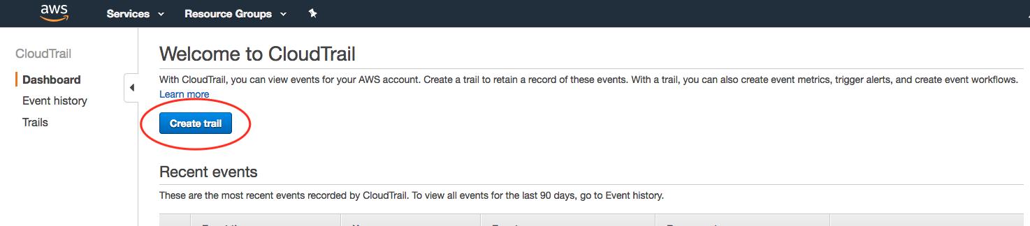 Installation ‐ AWS CloudTrail ‐ Wazuh 3 5 documentation