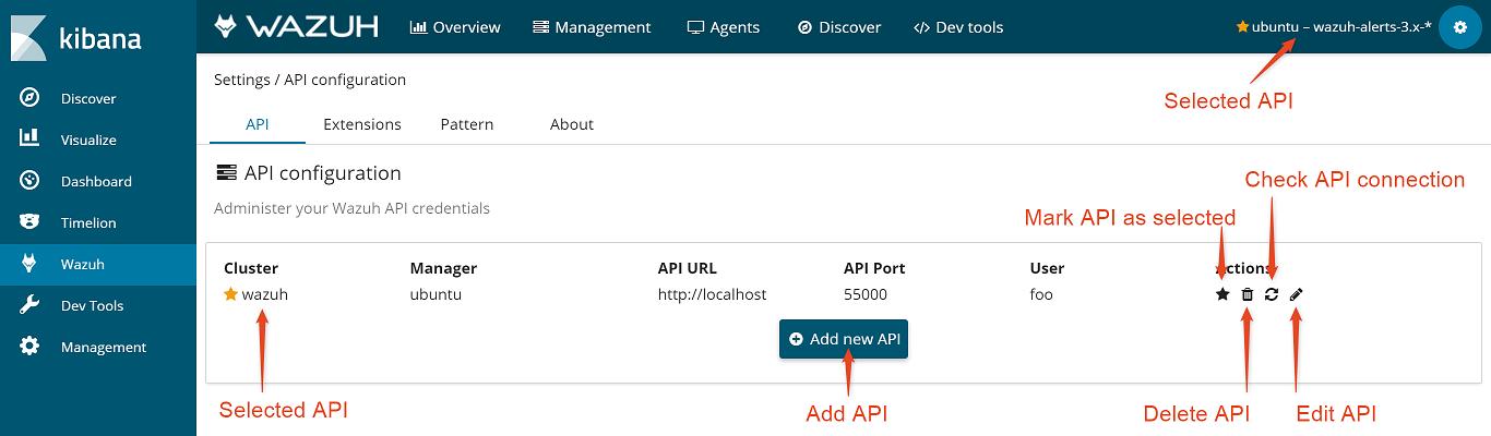 Settings ‐ App features · Wazuh 3 6 documentation