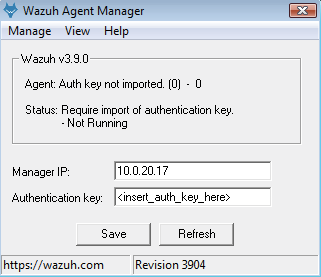 Windows from package ‐ Windows · Wazuh 3 9 documentation
